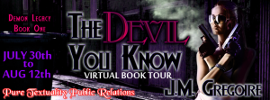 The Devil You Know - Long Tour Banner